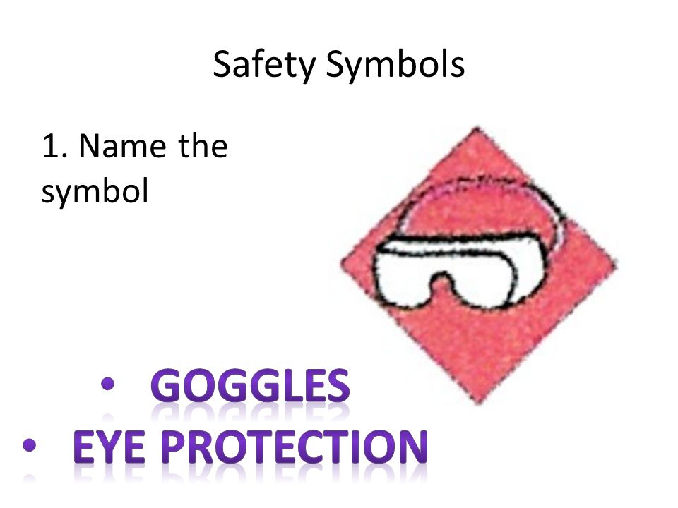 Goggles Eye protection