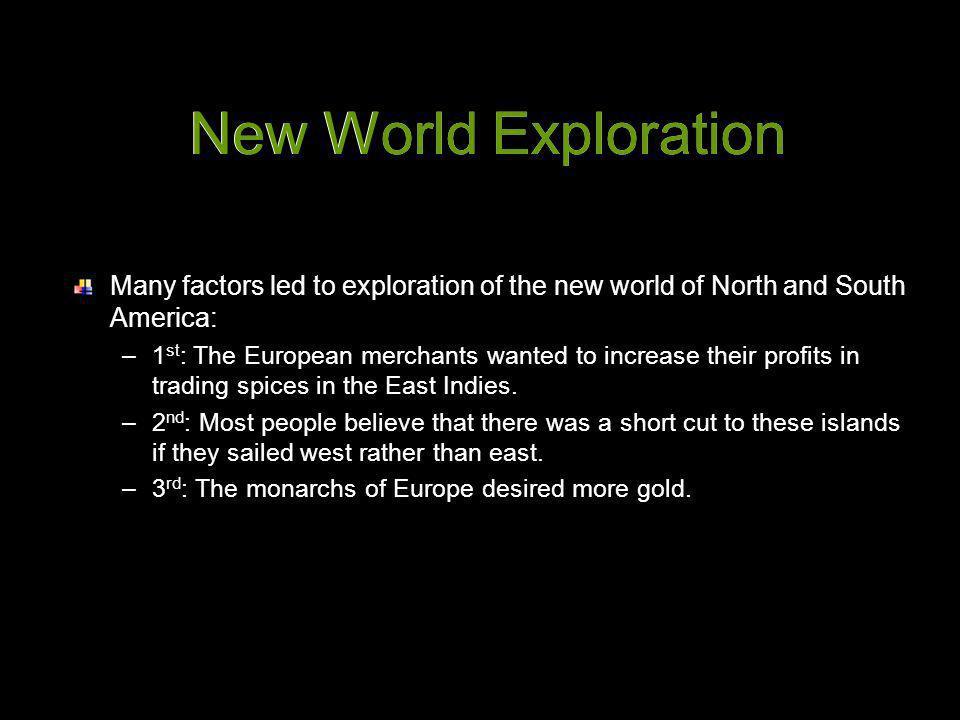 New World Exploration New World Exploration