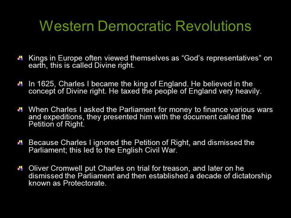 Western Democratic Revolutions