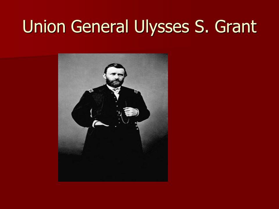 Union General Ulysses S. Grant