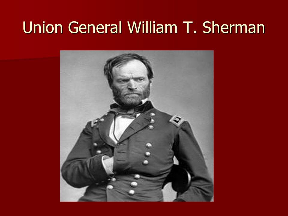 Union General William T. Sherman