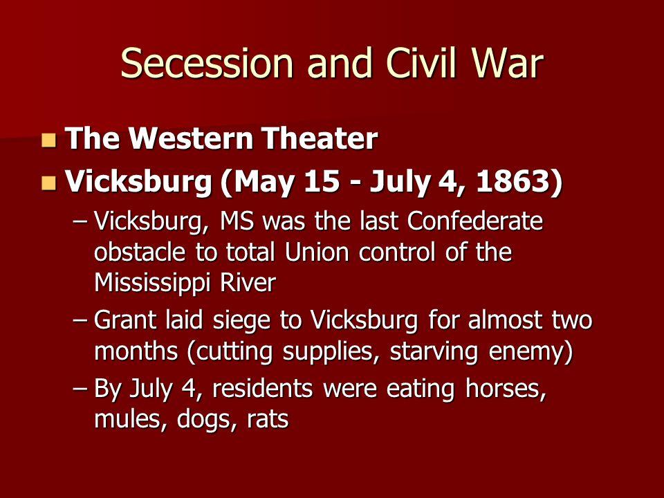 Secession and Civil War