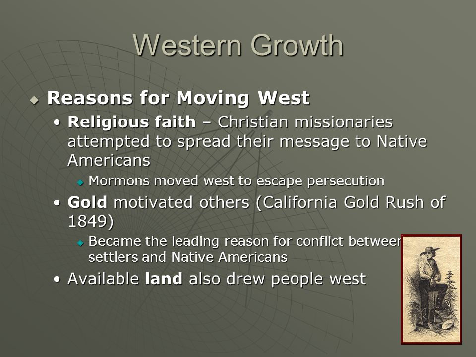 Western Growth Reasons for Moving West