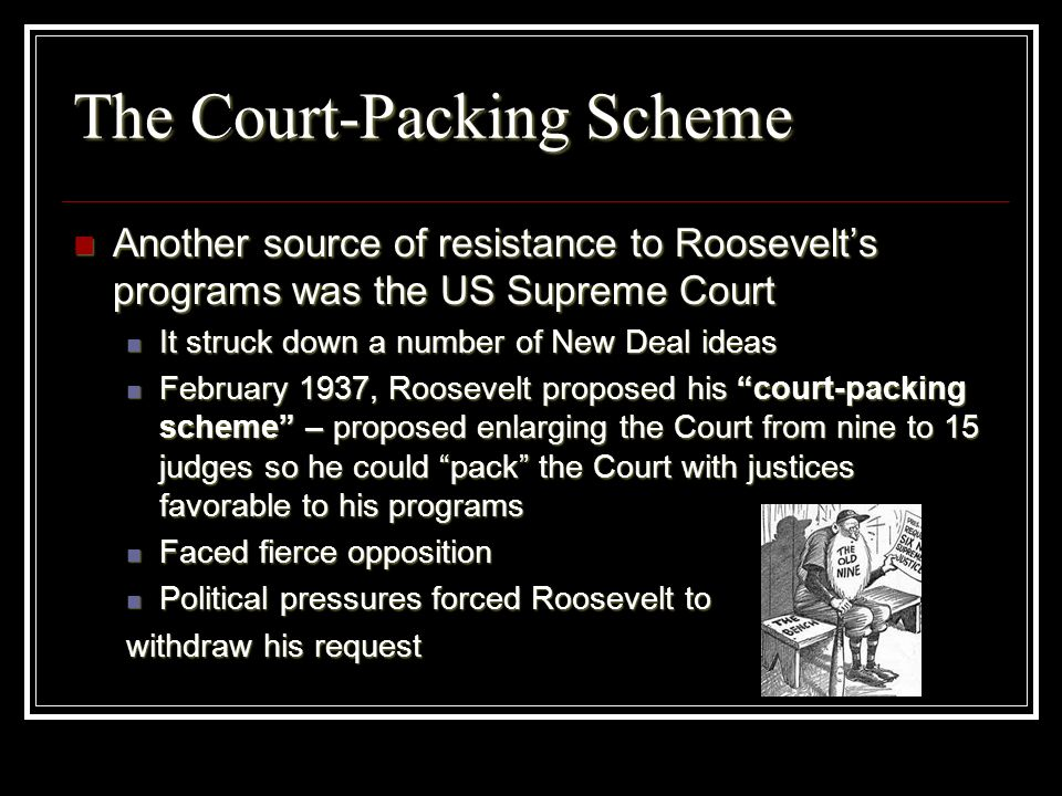 The Court-Packing Scheme