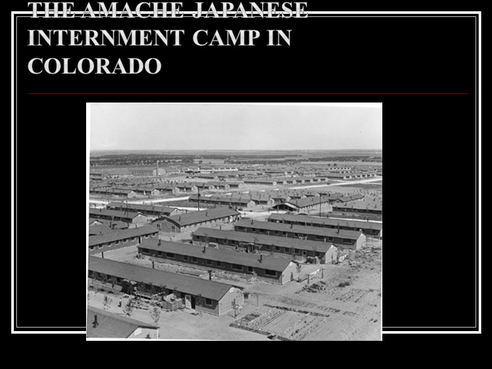 The Amache Japanese Internment Camp in Colorado