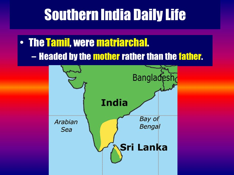 Southern India Daily Life