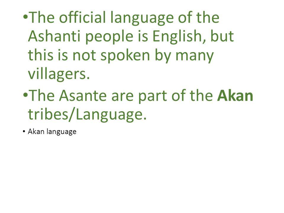 Akan language