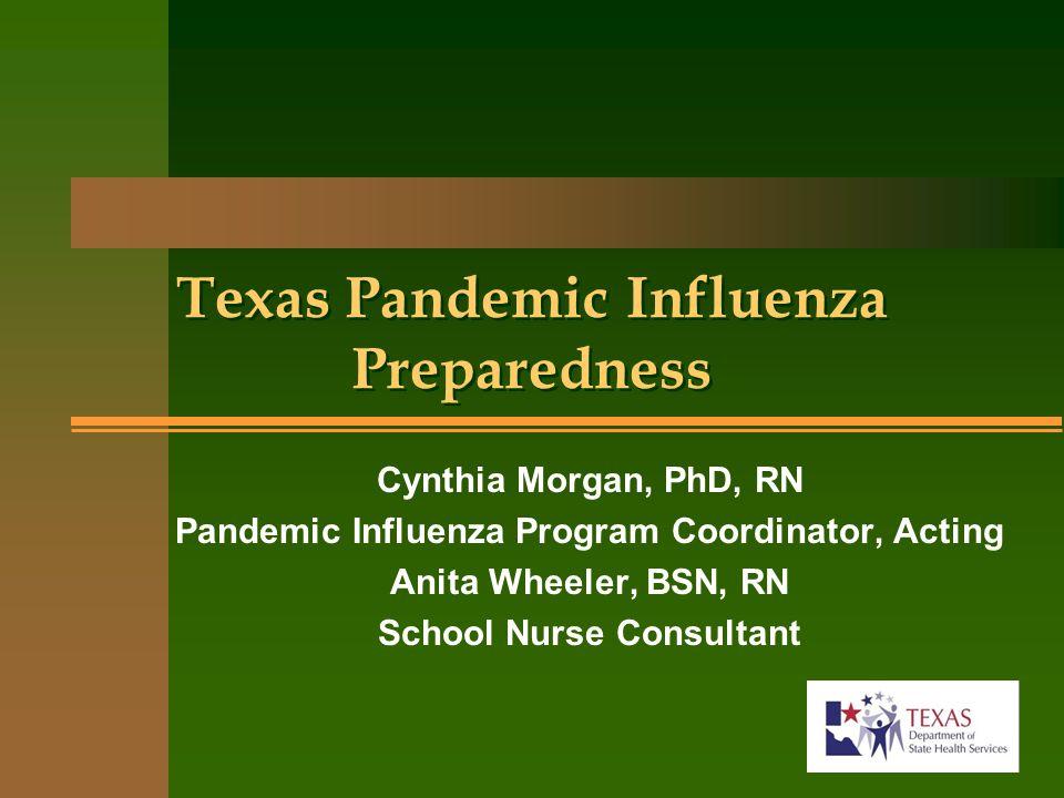 Texas Pandemic Influenza Preparedness