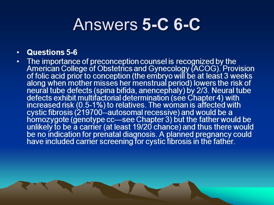 Answers 5-C 6-C Questions 5-6