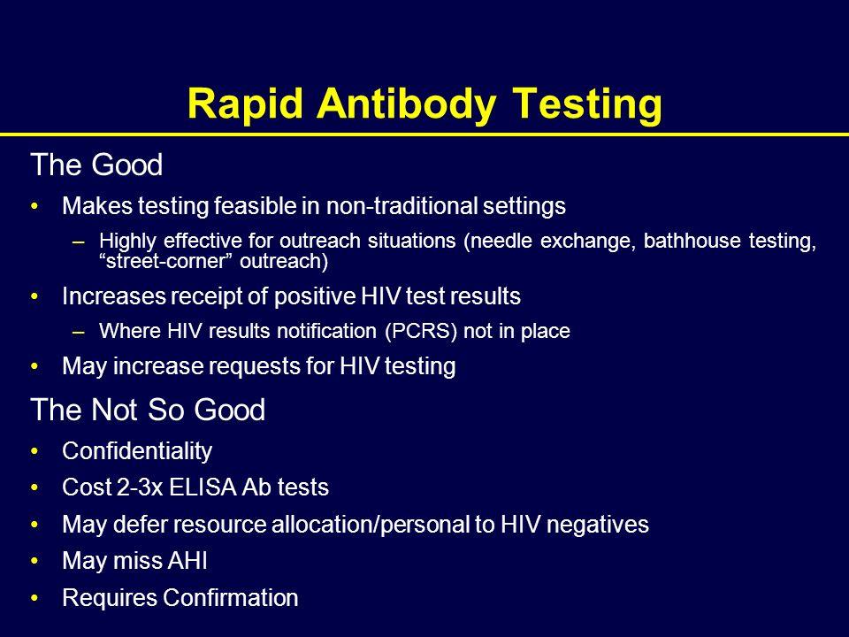 Rapid Antibody Testing