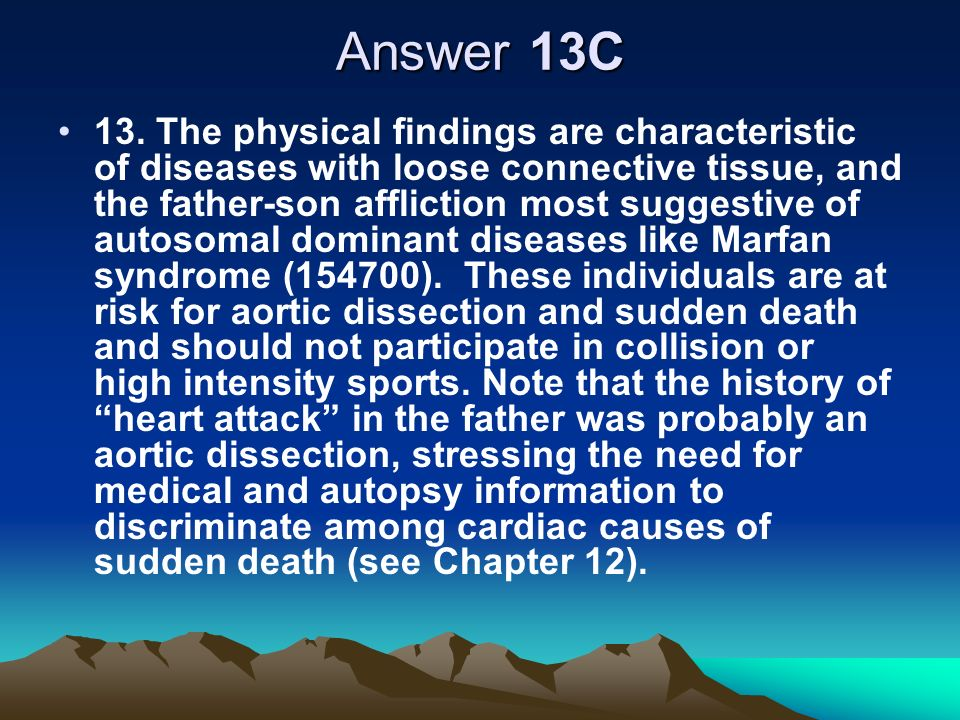 Answer 13C