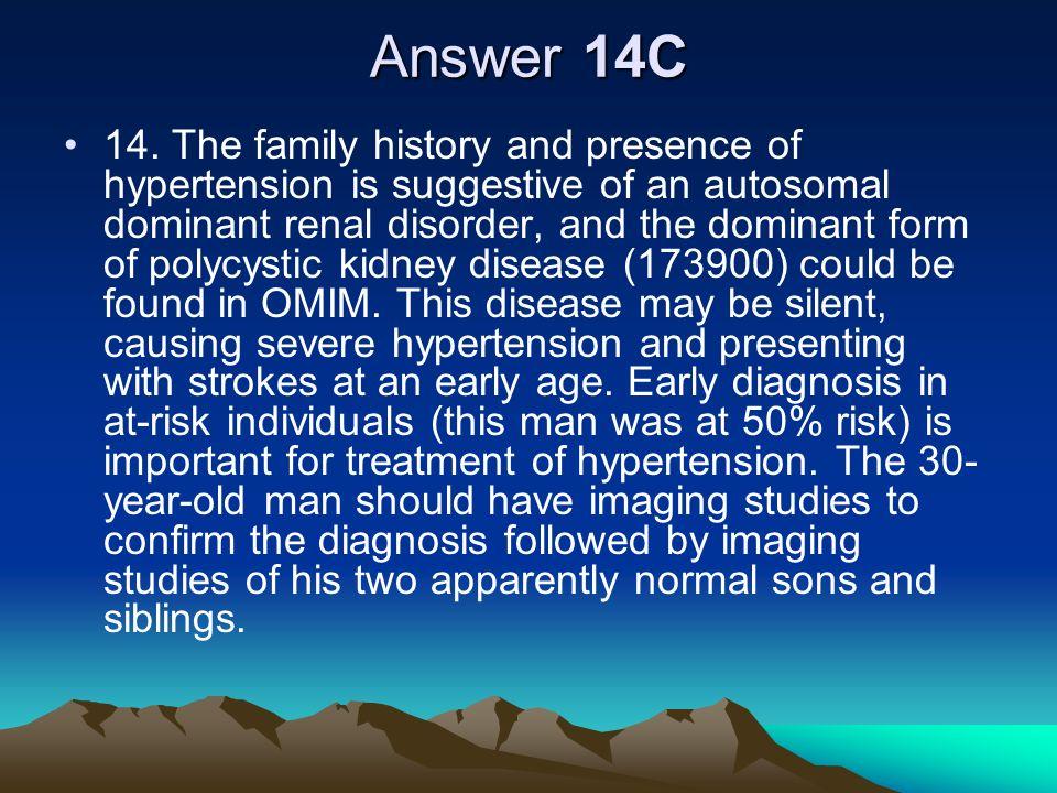 Answer 14C