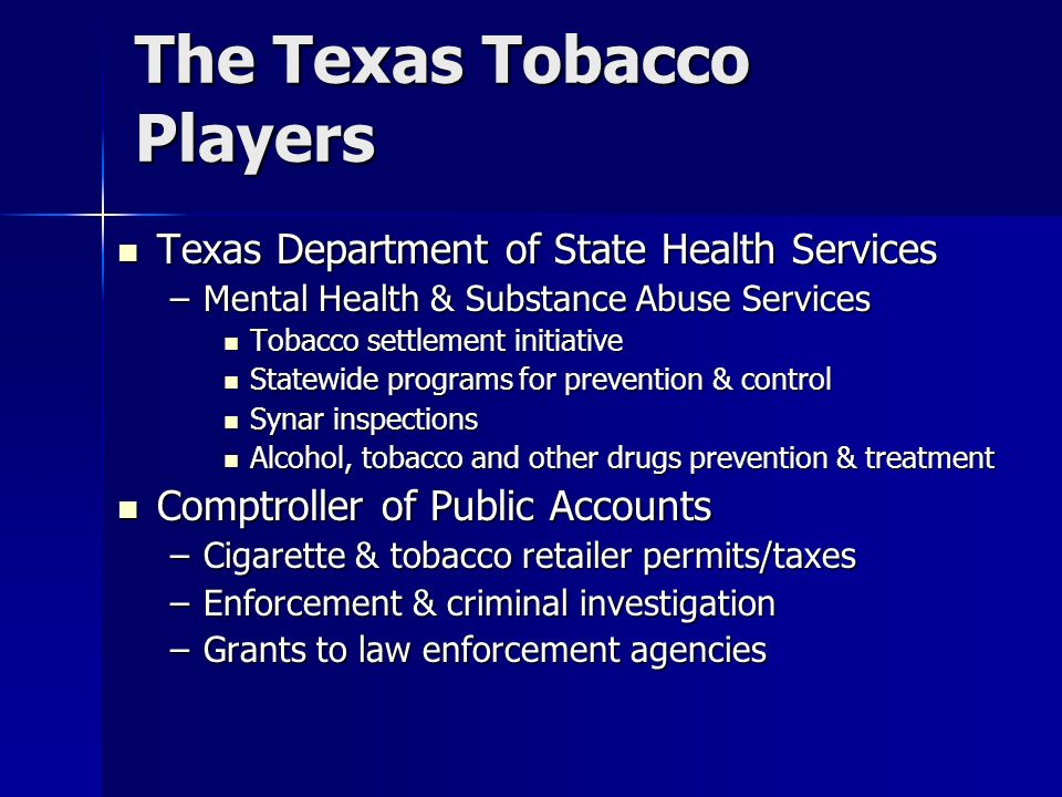 The Texas Tobacco Players