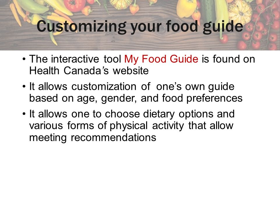 Eating Well With Canada S Food Guide Saturated Fat