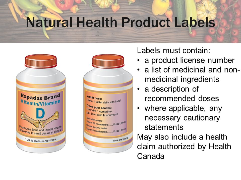Natural Health Products Directorate