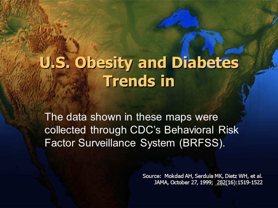 U.S. Obesity and Diabetes Trends in