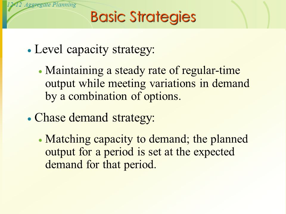 chase strategy Lsc 343 ch 8 level and chase production plans  do we find that $120 coefficient in the overtime or subcontract column in the 3rd strategy.