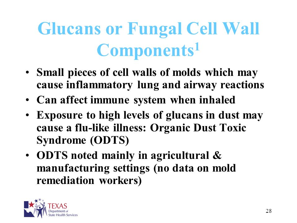 Glucans or Fungal Cell Wall Components1