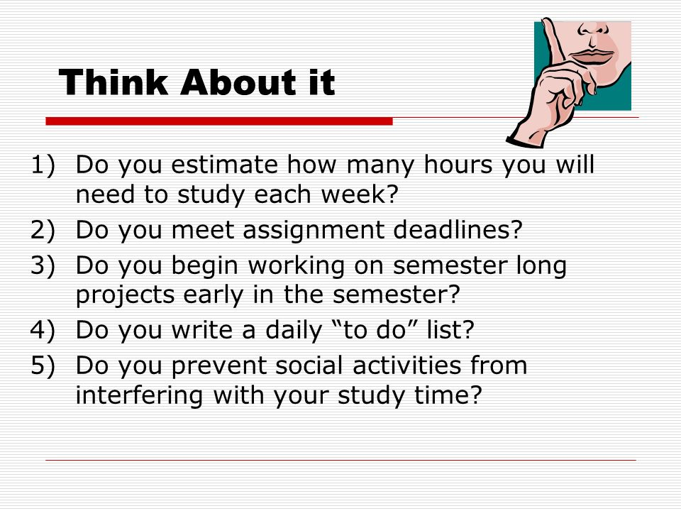 time management for college students ppt