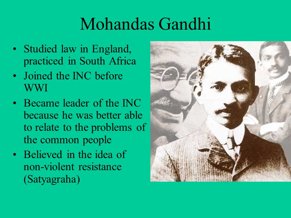 the life of mohandas gandhi a leader of nationalist movement Mohandas karamchand gandhi [mo han' dus kuh' rahm chund gahn' de] was   within five years after his return to india, gandhi had become the leader of the  indian nationalist movement  the essential gandhi: his life, work and ideas.