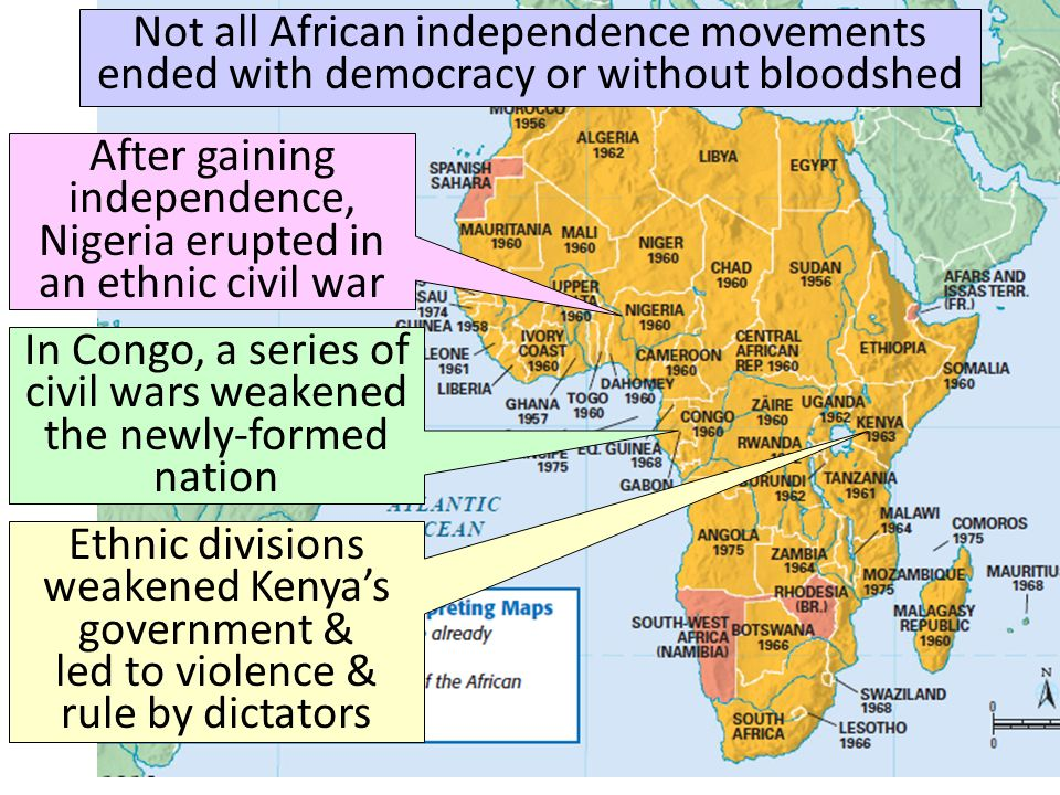 Independence Racism And Genocide Ppt Video Online Download - What does this map tells us about african independence