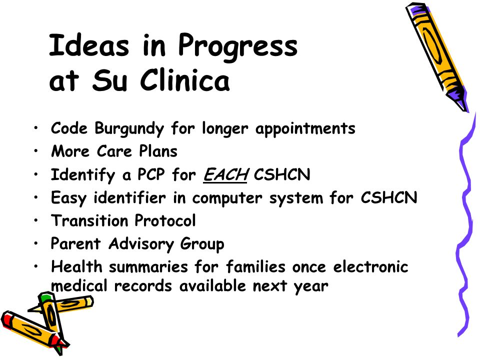 Ideas in Progress at Su Clinica