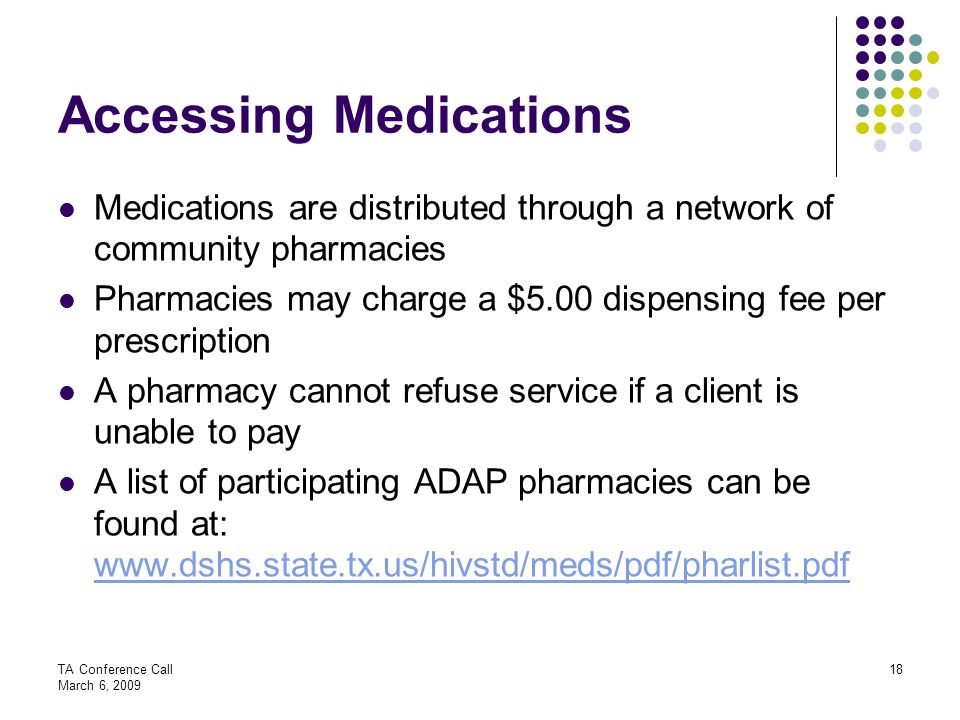Accessing Medications