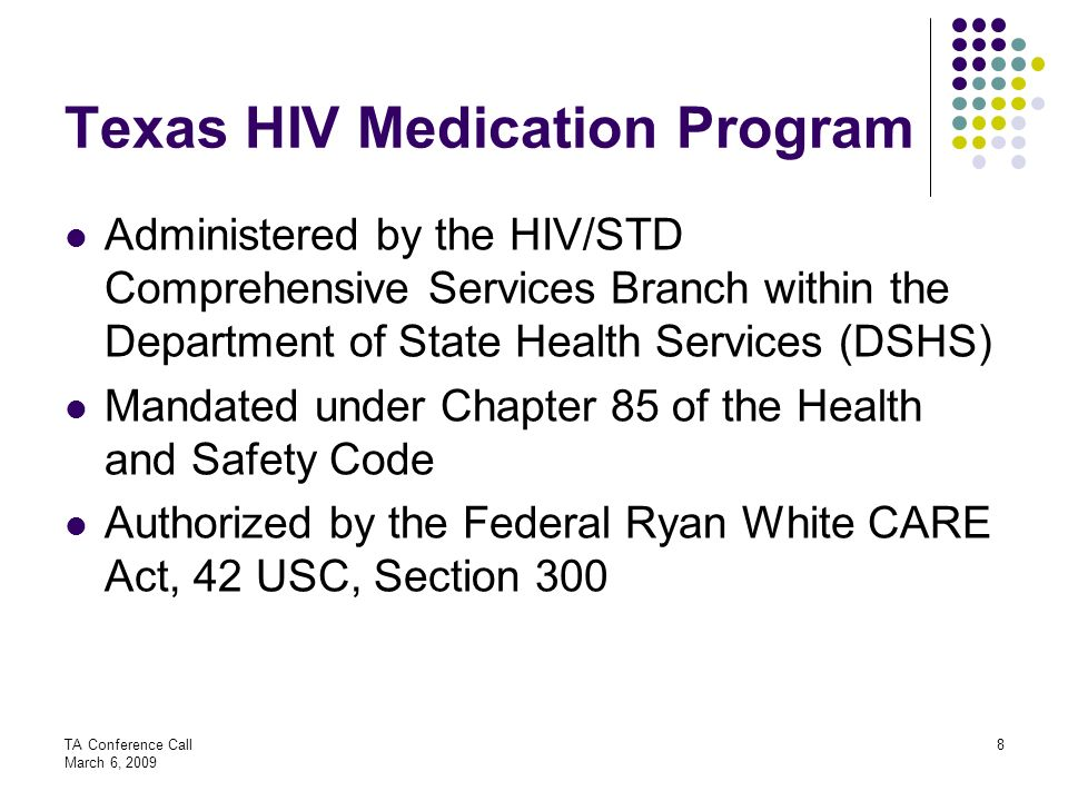 Texas HIV Medication Program