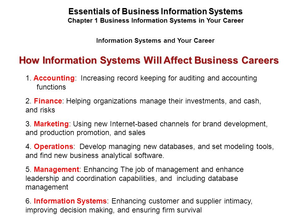 careers in information and decision systems Management information system summary - learn management information system (mis) in simple and easy steps starting from overview, information concepts, enterprise.