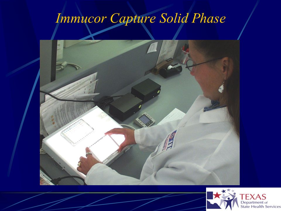 Immucor Capture Solid Phase