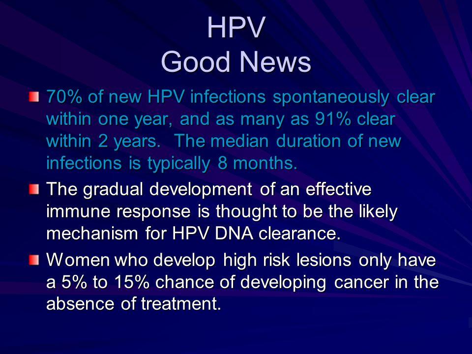 HPV Good News