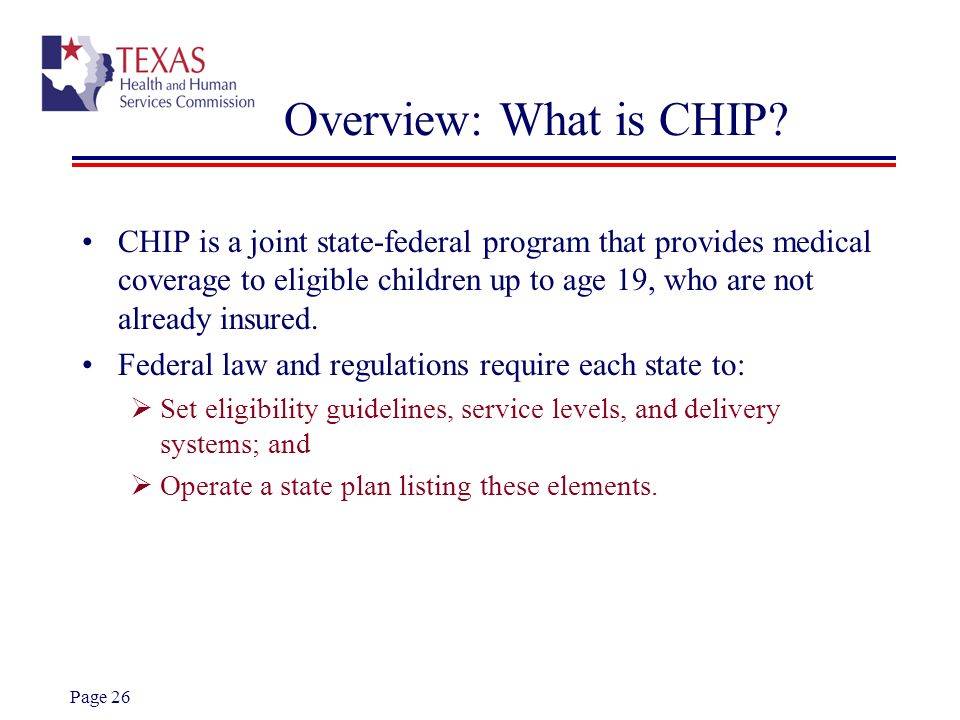 Overview: What is CHIP