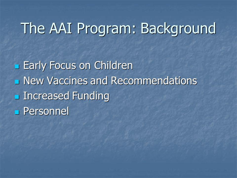 The AAI Program: Background