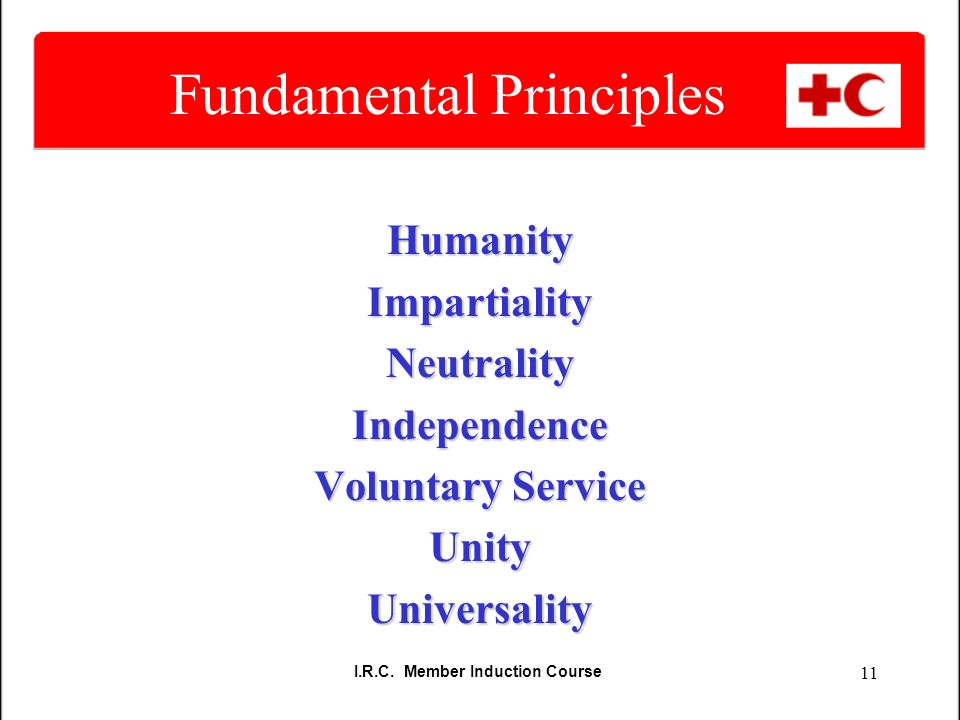 principles of red cross pdf