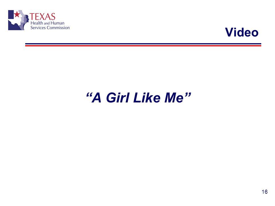 Video A Girl Like Me