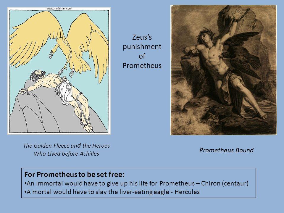 Zeus's punishment of Prometheus