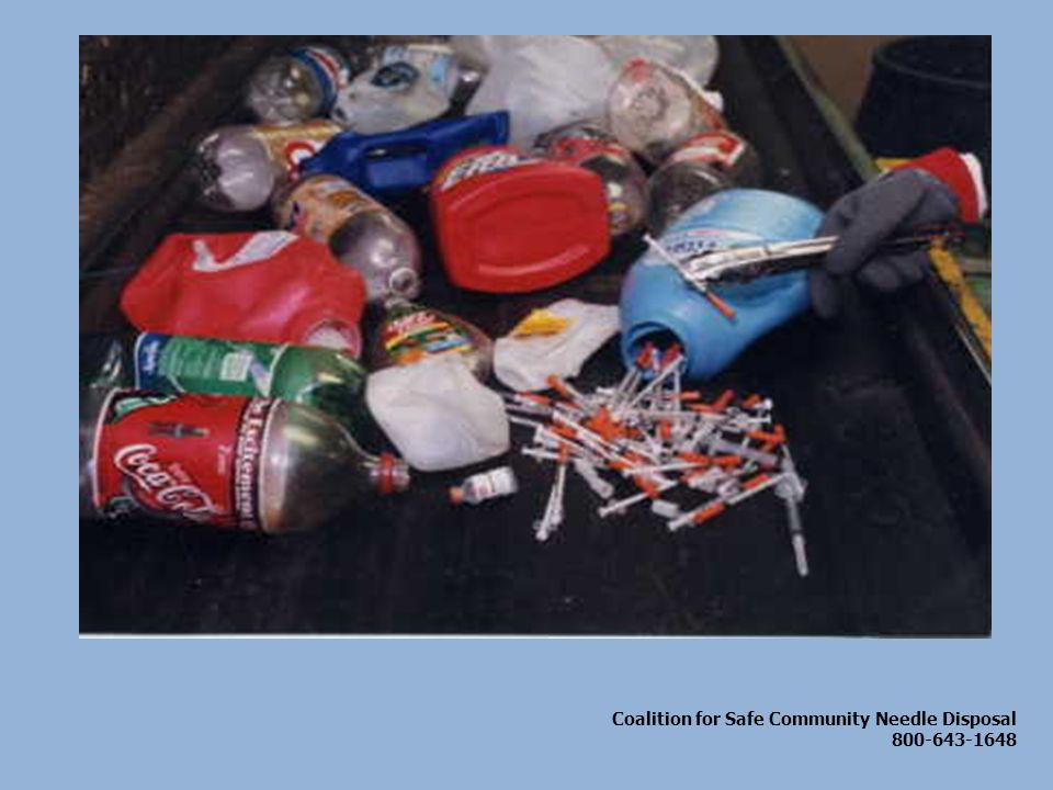 Coalition for Safe Community Needle Disposal