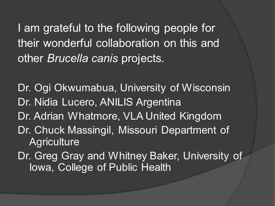 I am grateful to the following people for