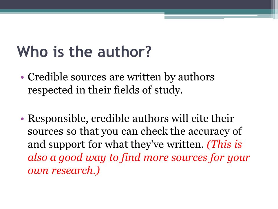 Most Reliable and Credible Sources for Students