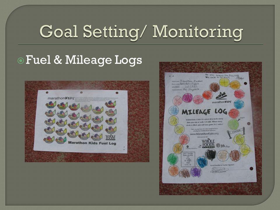 Goal Setting/ Monitoring