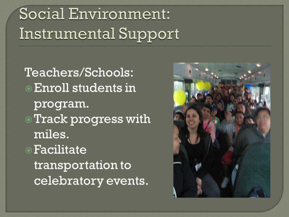 Social Environment: Instrumental Support
