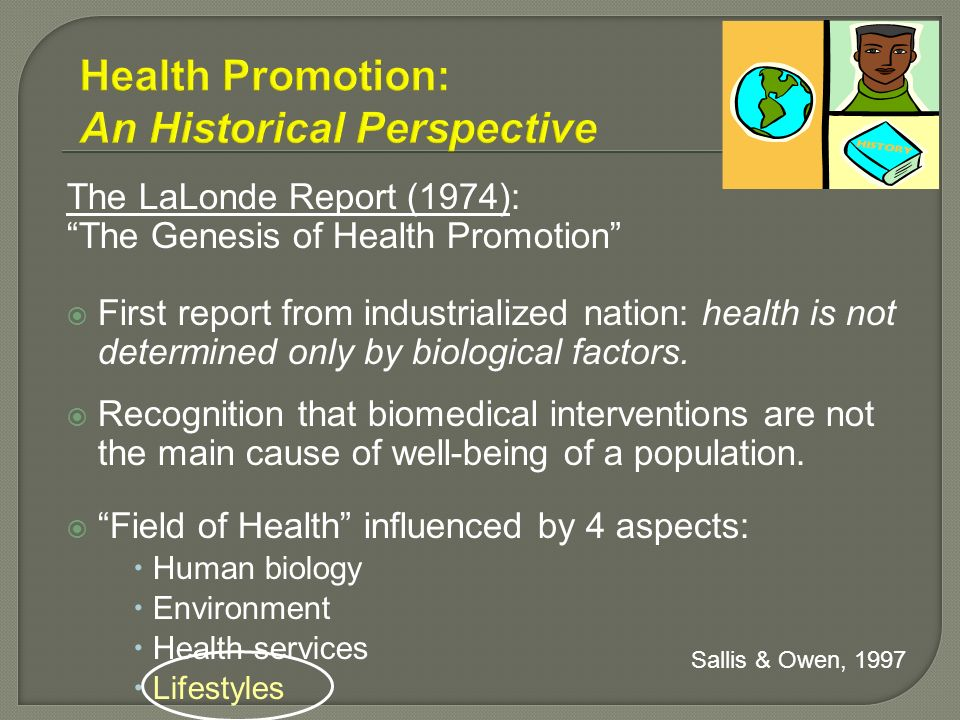 Health Promotion: An Historical Perspective