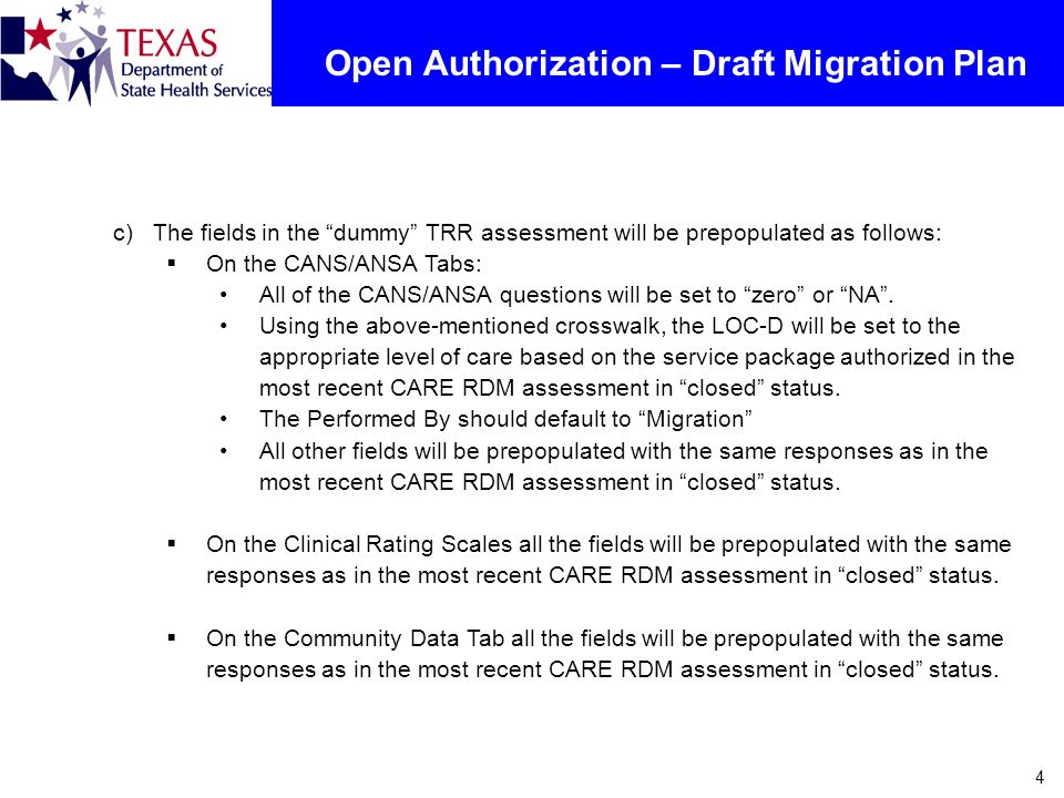 Open Authorization – Draft Migration Plan
