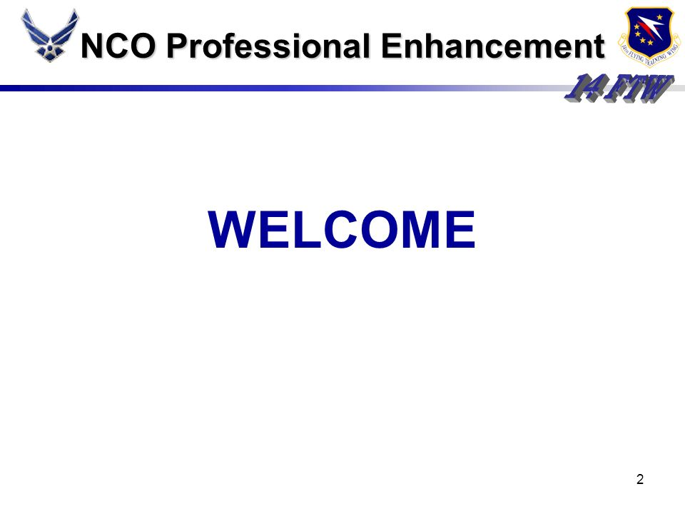 NCO Professional Enhancement