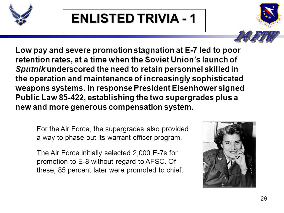 ENLISTED TRIVIA - 1