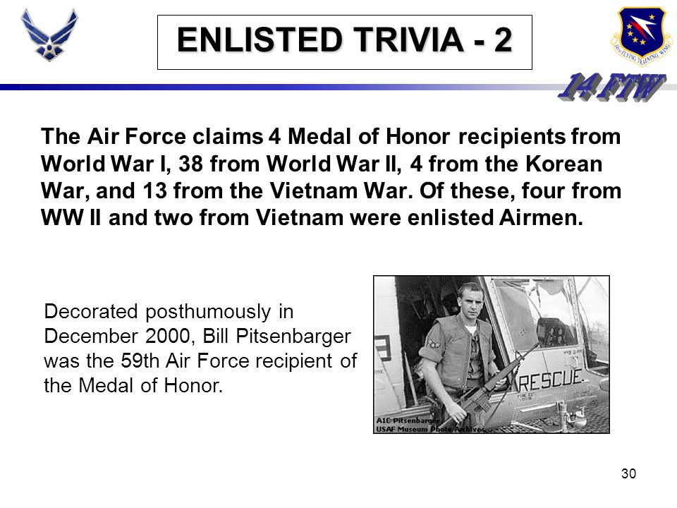ENLISTED TRIVIA - 2