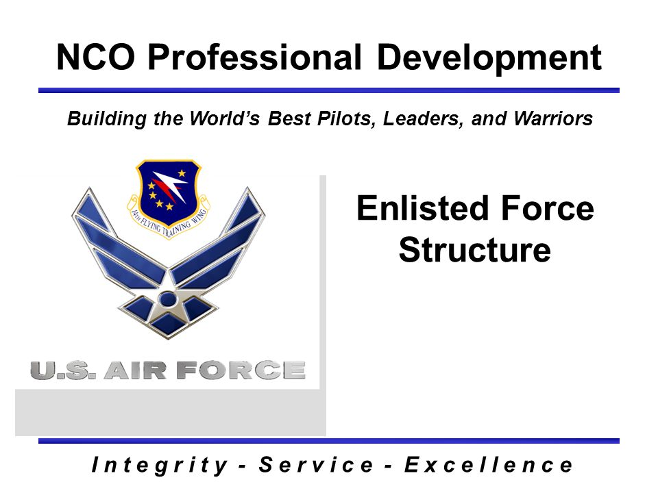 NCO Professional Development