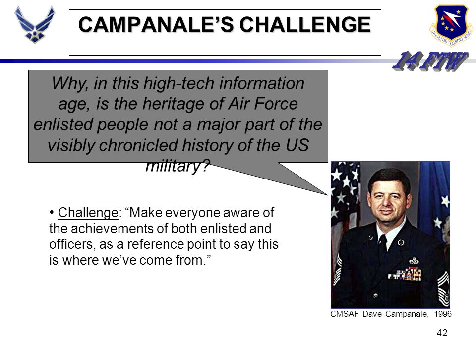 CAMPANALE'S CHALLENGE