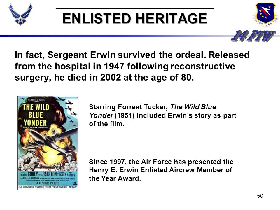 ENLISTED HERITAGE