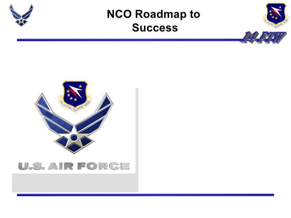 14 FTW NCO Roadmap to Success